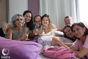 Nossa super equipe! Sônia, Carol, Gui, eu, Leila (minha mãe), Tanila e Ana!